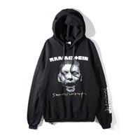 Wholesale Zombie Sweatshirt - 2018 new Best Version Oversized Vetements 17fw zombie Einstein German chariot thin Women Men hoodie Sweatshirts S-XL