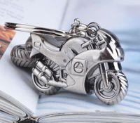 ingrosso anello chiave del motociclo 3d-Il portachiavi classico della catena chiave dell'anello del keychain del motociclo 3D di vendita calda creativa Keyring il supporto chiave Keyfob il trasporto libero