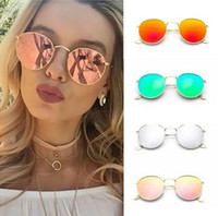 Wholesale classic fashion personality - Round sunglasses Fashion Classics Metal Personality Eye Sunglasses 9 Colors Cool Vintage Eye Women Round Glasses Add it to your wishlist!