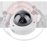 Wholesale Ip Camera Outdoor Eu - Outdoor Waterproof HD 1080P CMOS Motion Alarm IR Dome Security Surveillance CCTV P2P WIFI CCTV Smart IP Camera White EU Plug
