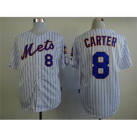 Wholesale Cheap Baseball Uniform - 2015 New Hot Mets #8 Gary Carter Jerseys White Cool Base Baseball Jerseys Hot Sale Baseball Shirts Cheap Athletic Uniforms for Men Hot Sale