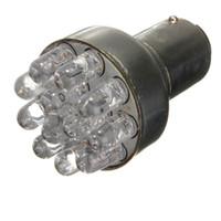 Red Led Brake Turn 1157 online - 2pcs Red 1157 BAY15D T25 12 LED Car Brake Turn Stop Tail Light Lamp Bulb For DC 12V Free Shipping