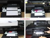 Wholesale Printer Card Tray - Free Shipping PVC ID Card Tray for Printer Espon T60 T50 R280 R380 A50 P50 R260 R265 R270 R285 R290 R680