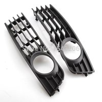 Wholesale Audi A4 B6 Grill - Pair Left Right Front Lower Fog Light Grills Grille For Audi A4 B6 Sedan 02-05 order<$15 no tracking