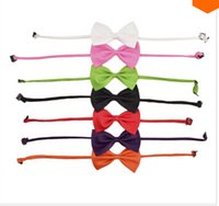 Wholesale Pet Accessories Toy - New Fashion Cute Dog Cat Pet Puppy Toy Kid Cute Bow Tie Necktie Collar Clothes dog toys cat collar clothing for dogs accessories