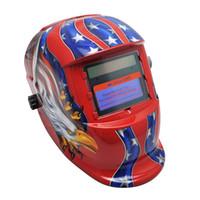 Wholesale Darkening Welding - High performance solar cells and lithium battery Pro Solar Auto Darkening Welding Helmet Arc Tig Mig Mask Grinding Welder Mask