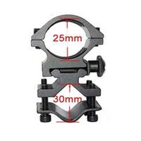 ingrosso i supporti della portata del barile-SKU562 25mm Ring scope monta binario 20mm per torcia Laser Torch Barrel Bracket