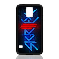 Wholesale Star S4 Phone - Skrillex Logo Stars for samsung galaxy S3 S4 S5 S6 note2 note4 note3 hard plastic cell phone back cover case