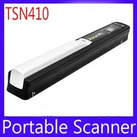 Wholesale Handyscan Scanner - SKYPIX TSN410 Handheld document Scanner Cordless Mini Portable Scanner Handyscan A4 Color Sensor MOQ=1 free shipping