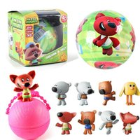 LOL SURPRISE DOLL Serie 3 Mini Orso Doll Edition Action Figures LOL Pet Dolls 6.5cm Balls Senza funzione Con scatola CCA8397 120pcs