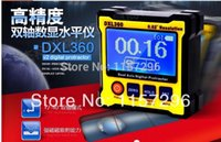 Wholesale Elevation Meter - Wholesale-New model DXL360 Digital Protractor Inclinometer Dual Axis Level measure box Angle ruler Elevation meter