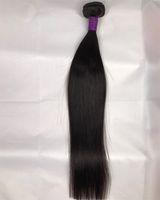 Wholesale 32inch Virgin Peruvian Hair - Hair Bundles Virgin Hair Human Hair 1 Piece Bundles 8-32inch Natural Color Free Shipping 9a Grade Hot Sell