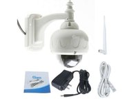 Wholesale 1pcs Ip - 1pcs 720p Surveillance camera,P2P IP, 3X OPTICAL ZOOM,Outdoor Waterproof,CMOS Security network Support the WPS function,TF card