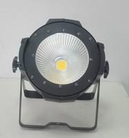 ingrosso par 64 può luci-DMX512 indoor 100 W caldo / bianco COB led par light / led par 64 can / LED studio light / LED fresnel luce del palco