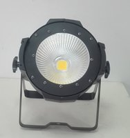 Wholesale fresnel lights - DMX512 indoor 100W warm white COB led par light led par 64 can LED studio light LED fresnel stage light