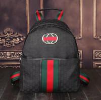 Wholesale Silk Backpacks - 2017NEW Europe Luxury brand women bag Famous designers handbags backpack women's Shoulder bag chain backpacks imitation brands #G225G