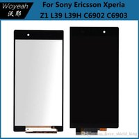 Volle LCD Touch Digitizer Screen Assembly Ersatz für Sony Xperia Z1 L39h C6902 C6903 C6906 C6943