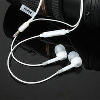 écouteur de haute qualité achat en gros de-Nouveau 2015 Haute Qualité XIAOMI Casque 3.5mm Écouteur Casque Casque Pour XiaoMI Samsung iPhone Avec Télécommande Et Écouteur MIC En Gros