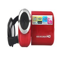 Wholesale Hd Video Format - HDV-302P 3.0 Inch LCD Screen HD 1080P 24MP 16X Digital Zoom Anti-shake Digital Video DV Camera Camcorder