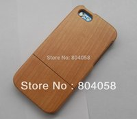 Wholesale Cherry Hard Wood - For iPhone 5C wholesale 100% New Real Natural Bamboo Wood Wooden Hard Case Cover Cherry wood Design!
