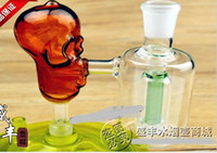 Wholesale Glass Plug Large - Free shipping wholesale Hookah Accessories - Hookah accessories [skull] plug filters, color random delivery, large better