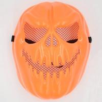 Wholesale Venice Masquerade Carnival - 10PCS Halloween pumpkin mask masquerade party Carnival of Venice evil Free Shipping