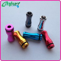 Wholesale New Style Dct - New Design styles Metal aluminum alloy camo Drip Tips eGo 510 Drip Tips Mouthpieces for DCT 510 vivi nova Protank CE4 CE5 MT3 E Cig