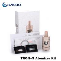 Wholesale Electronic Cigarette Evic Mod - Joyetech Tron-S Atomizer 4.0ml electronic cigarettes Best Match eVic VTC Mini 75W Mod 100% Original