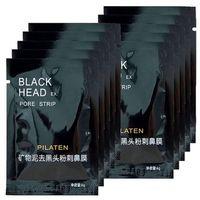 ingrosso maschera di rimozione dei pori-Alta qualità 1000 pezzi PILATEN Minerali per il viso Conk Naso Maschera per la rimozione di punti neri Naso detergente per pori Testa nera EX Striscia di pori