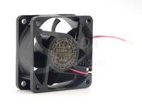вентилятор 12v 2wire оптовых-D60SH-12 Бесплатная доставка Оптовая Yate Loon 6025 60*60*25 мм DC 12V 0.18 A 2Wire вентилятор охлаждения