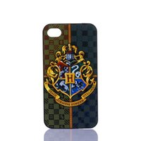 Wholesale Harry Potter Iphone 4s - Wholesale Harry Potter Cross Design Hard Plastic Mobile Phone Case Cover For iPhone 4 4S 5 5S 5C 6 6plus