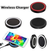 Q5 Universal Wireless Charger Pad Tragbare Power Band Q1 Standard Für s6 s7 s8 Iphone 8 X Mit Kleinpaket
