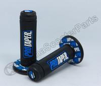 puños azules del manillar al por mayor-Al por mayor- Protaper Pro taper Motocicleta de alta calidad Dirt Pit Bike Motocross 7/8