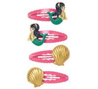 Wholesale Baby Girls Gymboree - Kawaii baby hairclips gymboree cute boutique hairbows girls hair bows cute hairbows hairclips hairpins sea shell and mermaid