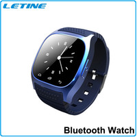 Wholesale Home Sms Control - M26 Waterproof Sports Bracelet Bluetooth Wristwatch with LED Display Dial SMS Reminding for iphone samsung IOS Android phones smart watch
