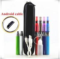 Wholesale E Cig Battery Pass - UGO-T ce5 kit USB passing electronic cigarette Cigarettes 650mah 900mah 1100mah UGO-T USB battery Starter kit e cig ego case DHL free