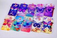 Wholesale Galaxy S4 Phone Cases Butterfly - High Quality Phone Cover Luxury 3D Colorful Butterfly Soft TPU Case for Samsung Galaxy S4 S5 S6 NOTE3 NOTE4
