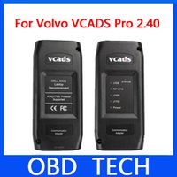 Wholesale Truck Diagnostic Sale - Hot sale Volvo Truck Diagnostic Tool Volvo VCADS Pro 2.40 Version Vovlo diagnostic tool with Multi-language Free Shipping by DHL&EMS
