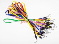 cep telefonu cazibesi kabloları toptan satış-Pratik Ployster bilek el cep telefonu mobil zincir sapanlar anahtarlık Charm Kordonlar DIY Asın Halat İpi boyun halat Ücretsiz kargo