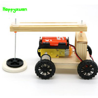 Happyxuan DIY Elektrische Sweeping Robot Student Physical Science Experiment Erfindung Kinder Montage Modell Material Kit Spielzeug
