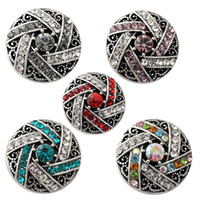 Wholesale Chunk Snap Bracelet - D02183 Free Shipping Fashion 18mm Snap Buttons DIY snap button noosa chunks leather bracelet Fit DIY Noosa button Bracelet Jewelry