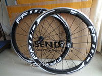 leichtmetallfelgen großhandel-Neueste FFWD 700C 50mm Klammerkante Rennrad-Carbon-Fahrrad-Radsätze mit weißem Logo der Bremsflächenoberfläche Freies Verschiffen