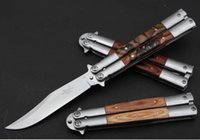 Wholesale Cat Swing - butterfly benchmade CAT jilt Free-swinging hunting gift outdoor camping knife knives knives xmas gift for man 1pcs freeshipping