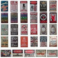 Wholesale Car Wall Posters - Metal Poster Tin Sign Plate Wall Decoration Vintage Art Tin Poster Deco CAR GAME Sign Home Club Bar Cafe Deco 8x12 Inch (20x30cm)