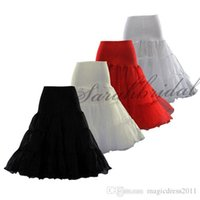 "Wholesale Swing Petticoats - 26"" 50s Retro Underskirt Swing Vintage Petticoat Fancy Net Skirt Rockabilly Tutu (4 Colores To Choosing) Free Shipping 3 Layers Cheap 2015"