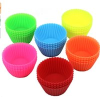 Wholesale DecoBros Pack Silicone Baking Cup Cupcake Liners
