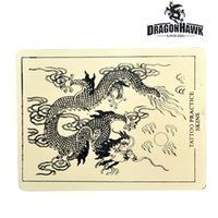 Wholesale Synthetic Skin Tattoo - Tattoo Practice Skin 8 x 6 Synthetic Fake Skin for Tattoo Beginner WS031