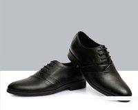 Wholesale Shoes For Bridegroom - 2016 nEW HOT SELL Black PU leather men party Round Toes men wedding shoes bridegroom Shoes dress shoes business Fashion For Groomsmen