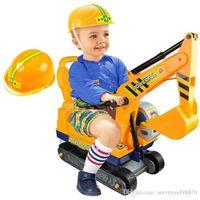 jouets d'équitation en peluche achat en gros de-Jouet en peluche à cheval sur la grande dig Digger Nouvelle grue à fonctionnement en plein air à vendre