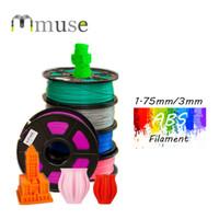Wholesale 3mm Filament Abs - Multicolors NW 1kg Roll 1.75mm 3mm 3D Printer Filament 3D Pen Filament ABS Filament